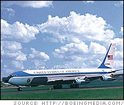 Boeing 707: Reagan Air Force One