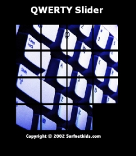 QWERTY slider