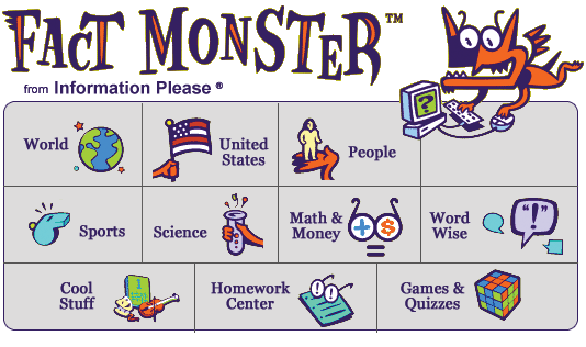 Fact Monster: Encyclopaedia for kids