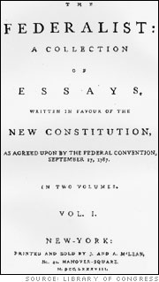 The Federalist Papers: A Collection of Essays
