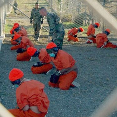 Terrorism suspects being held at Guantánamo Bay Prison