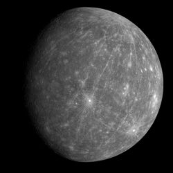 Image of Mercury from MESSENGER Flyby