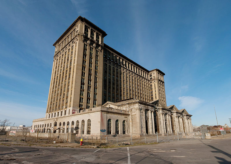 Michigan Central Train Station