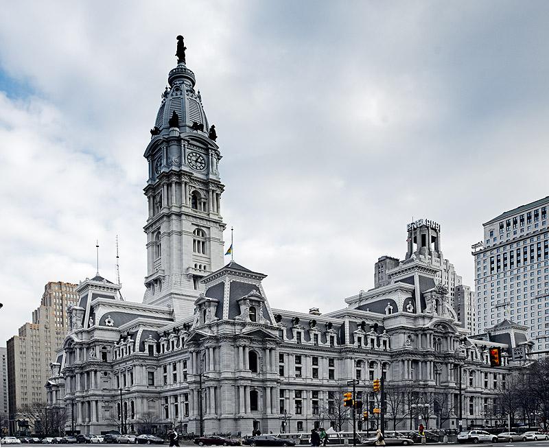 Philadelphia City Hall. Philadelphia, Pa. Designed in 1901 by John McArthur