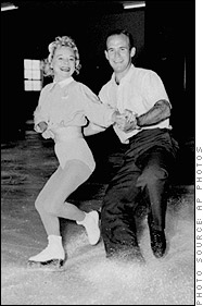 Sonja Henie and Dick Button Figure Skating