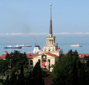 Sochi, Russia, seaport