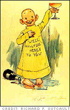 'The Yellow Kid' created by Richard F. Outcault